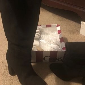 Circus by Sam Edelman calla black tall boots 9.5